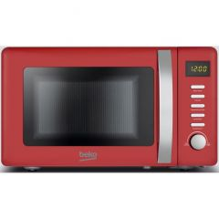 Beko MOC20200R Red 800W Retro Compact Microwave