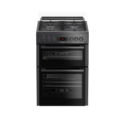 Blomberg GGN65N 60cm Double Oven Gas Cooker with Gas Hob - Anthracite