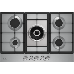 Blomberg GMB83512 75cm Gas Hob in Stainless Steel