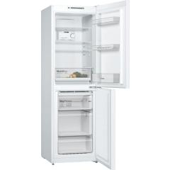 Bosch KGN34NWEAG 60Cm Frost Free Fridge Freezer - White - A++ Energy Rated