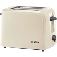 Bosch TAT3A0175GB Cream 2 Slice Toaster