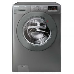 Hoover DHL1682DR3R 8Kg Load, 1600 Spin, Graphite, A Aa, Digital Display, 14 Minute Quick Wash