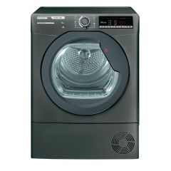 Hoover HLXC8TRGR 8kg Condenser Tumble Dryer - Graphite - B Energy Rated