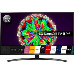 LG 65NANO796NE 65` 4K Ultra HD HDR10 NanoCell Smart TV with Google Assistant + Alexa