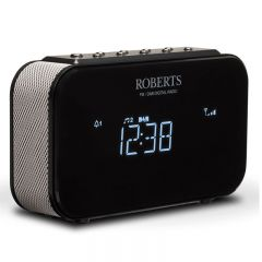 Roberts ORTUS 1 BLACK Clock Radio