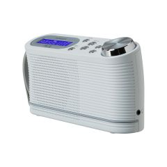 Roberts PLAY10W Dab/Dab+/Fm RDS Digital Portable Radio White