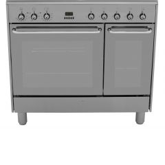 SMEG CC92MX9 90cm Stainless Steel Dual Fuel Range Cooker