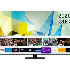 Samsung QE85Q80TATXXU 85` QLED Smart TV - A Energy Rated