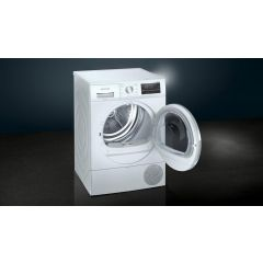 Siemens WT47RT90GB 9kg Heat Pump Tumble Dryer - White - A++ Energy Rated