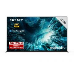 Sony KD75ZH8BU 75` 8K HDR Smart TV - C Energy Rated