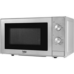 Beko MOC20100S Microwave 700W Compact Silver