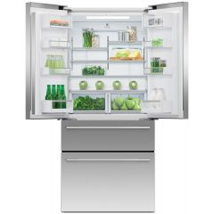 Fisher + Paykel RF523GDX1 Frost Free Multi Door Fridge Freezer - Stainless Steel - TBC Energy Rated