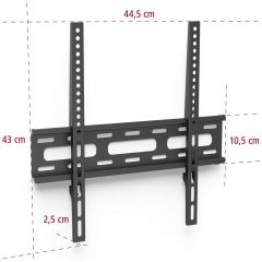 Hama 108770 Hama Flat Wall Bracket 32` To 56`