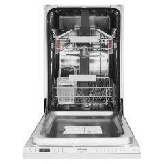 Hotpoint HSICIH4798BI Integrated Slimline Dishwasher - Stainless Steel - A++ Energy Rated