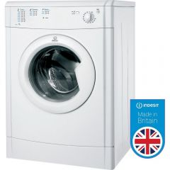 Indesit IDV75 Vented Tumble Dryer with Refresh option - White - B Energy Rated