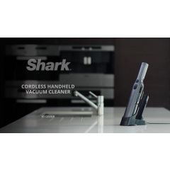 Shark WV200UK Vacuum Cleaner - Cordless - Shark Steel Grey