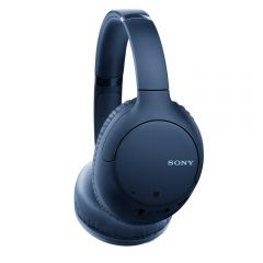 Sony WHCH710NLCE7 Wireless Over Ear Noise Cancelling Headphones - Blue